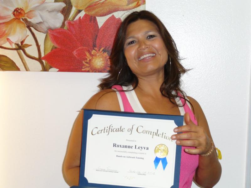 Roxanne Leyva from Ventura, California